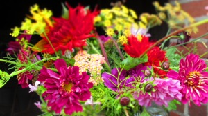 burst of flowers