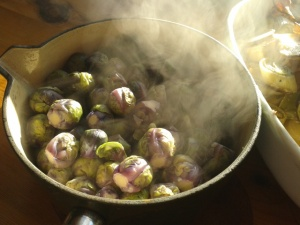 Brussels sprouts 'red rubine'