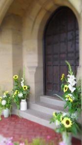 entrance flowers
