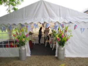 entrance to little marquee